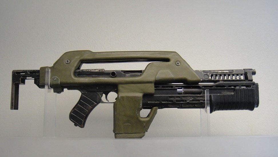 Intimidating heat shield for remington 870