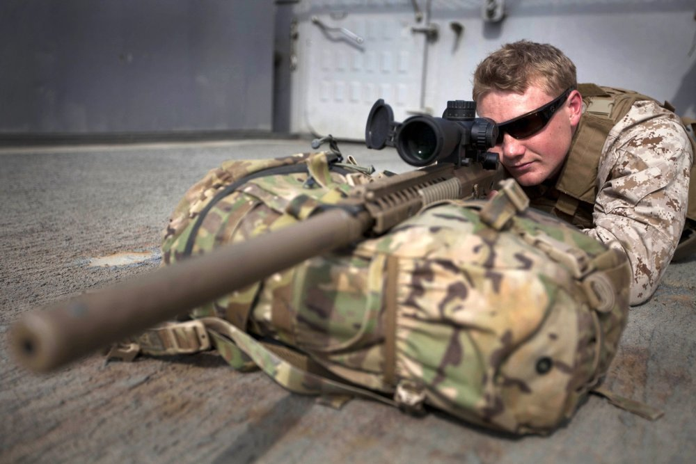 The Marine's New Sniper Rifle Can Kill from Over 1,000 Yards Away