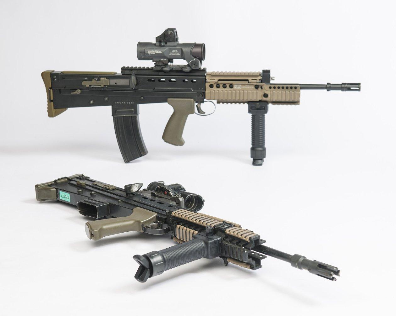 L85A1 Rifle: As Short as a Submachine Gun with the