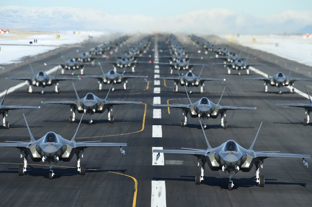 Military Photos Hill Lightning Line Up