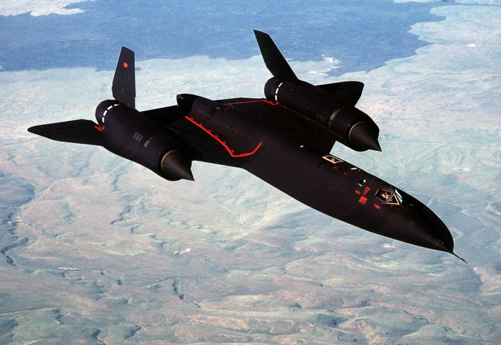 The Stealthy SR-71 Is The Fastest Plane on the Planet (But