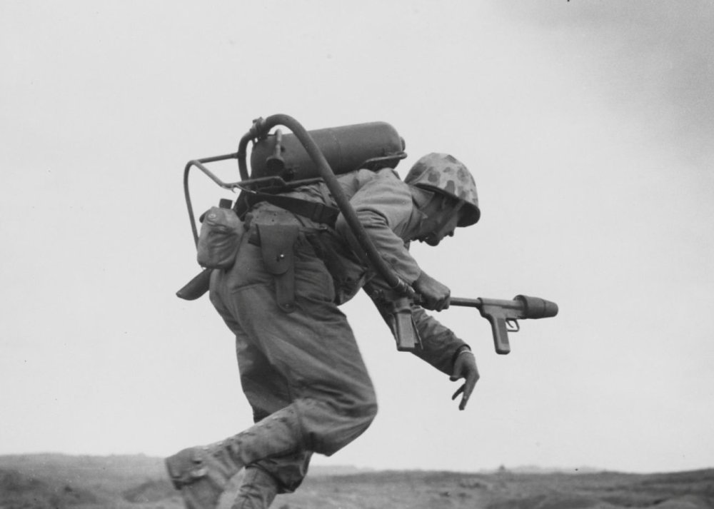 Por que os militares dos EUA pararam de usar o lança-chamas