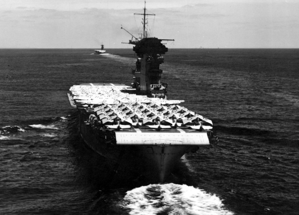 How One of America's Most Legendary Aircraft Carriers Was