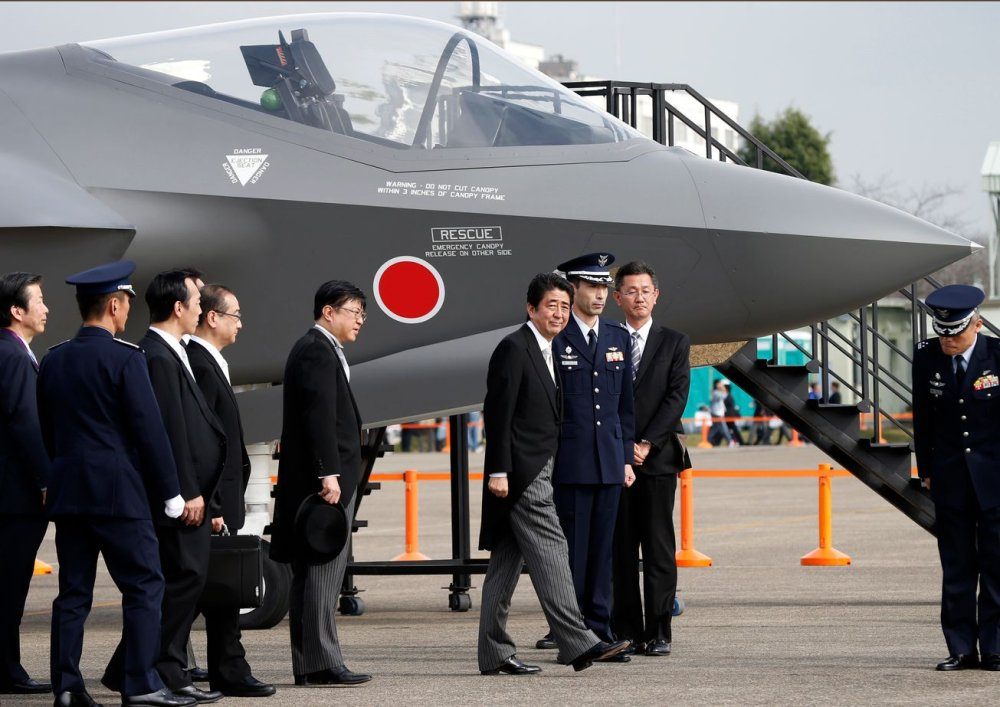 Japan Wants a Homemade Sixth-Generation Stealth Fighter