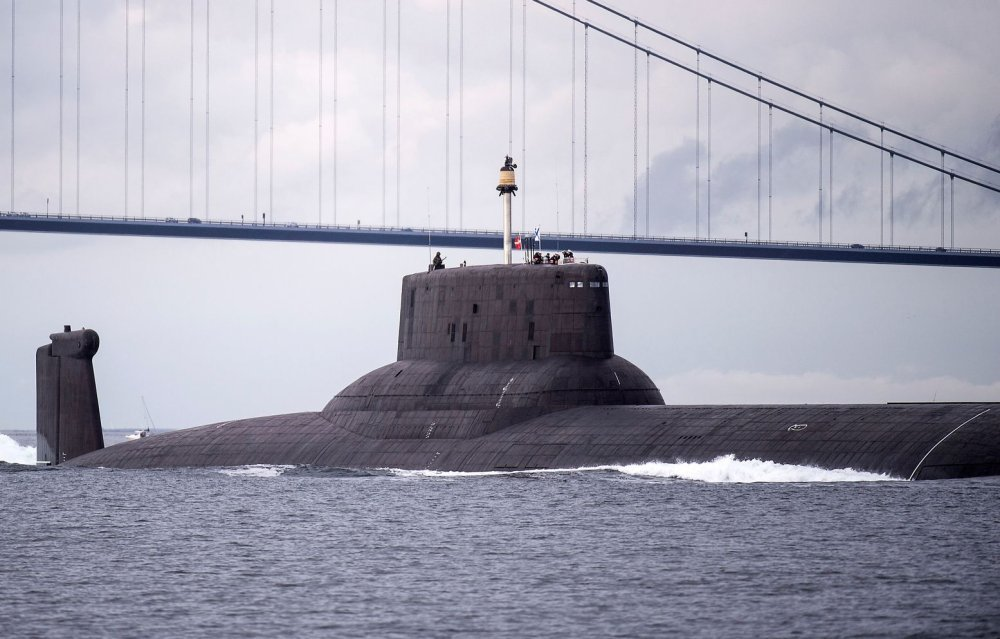 Russia Might Take Typhoon-Class Submarine and Make it a 200 Missile