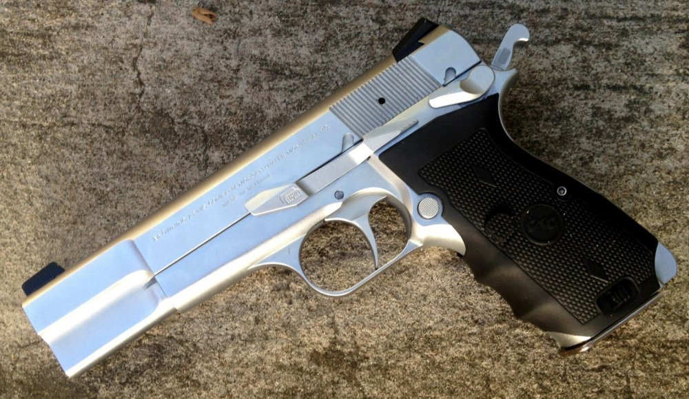 Meet the Browning Hi Power Pistol: A Revolutionary Gun