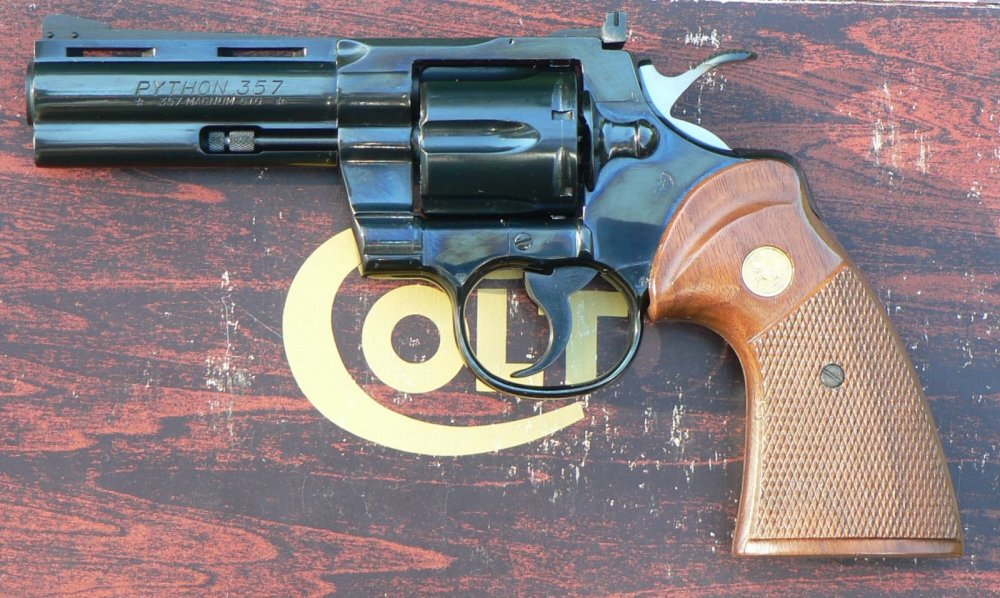 No Doubt: The Colt Python Was the Perfect Revolver | The National
