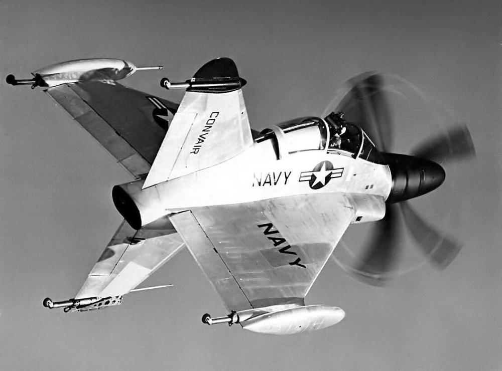 Convair XFY Pogo: este avião bizarro quase voou dos porta-aviões da Marinha dos EUA