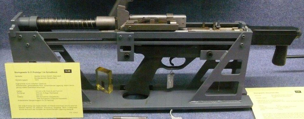 Meet the Heckler and Koch G11: The Super Assault Rifle You