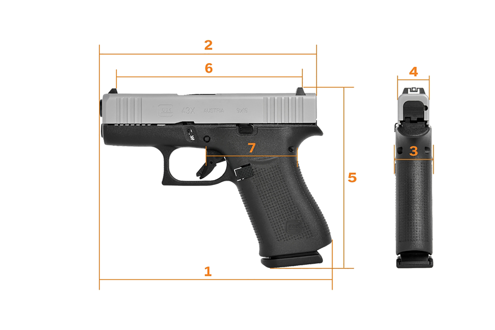 Glock 43X, Colt King Cobra and Sig Sauer's Copperhead: The 'Top Guns