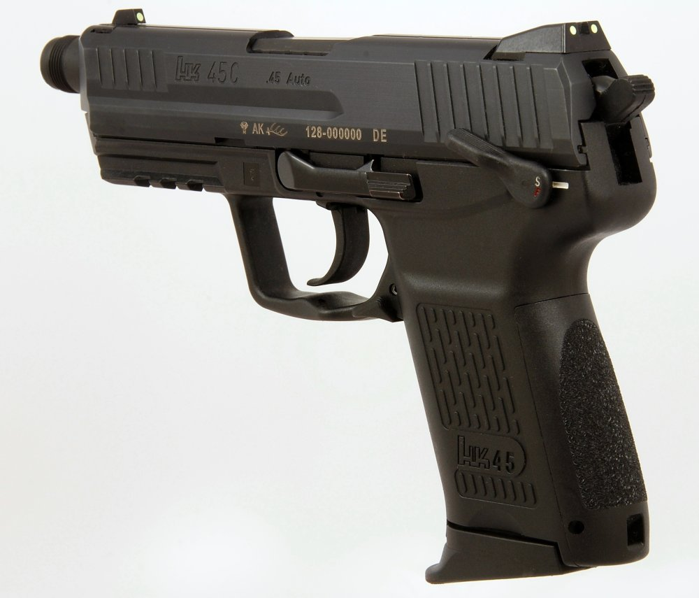 The Army's Big Mistake? Why the HK45 Is One of the Best Handguns