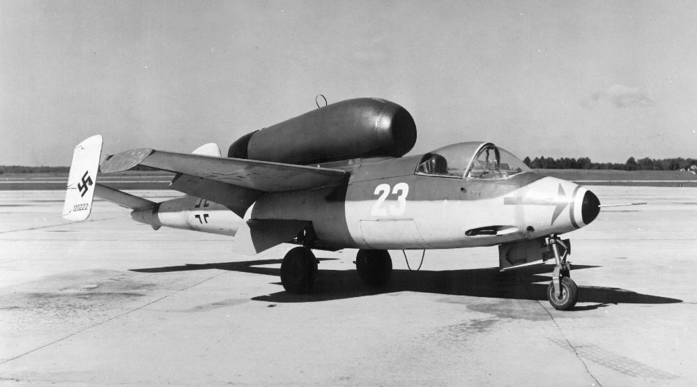 He 162: Hitler's Massively Flawed Wooden Jet Fighter   The National