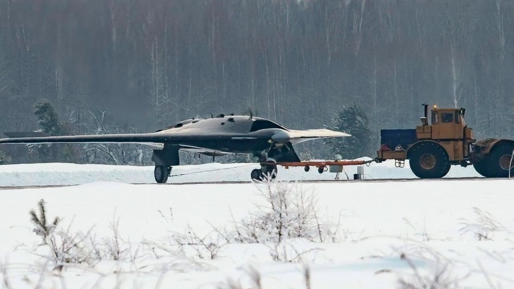 Russia's New, Bizzare B-2 Look-alike Stealth Drone Is up to