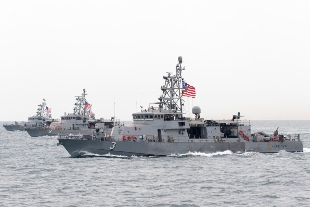 The Navy's 13 Cyclone-Class Patrol Boats Would Be the First