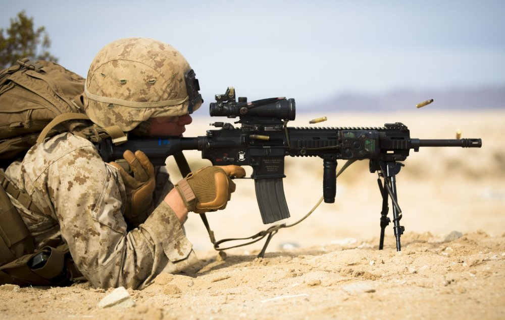 How a Marine Knows When To Go