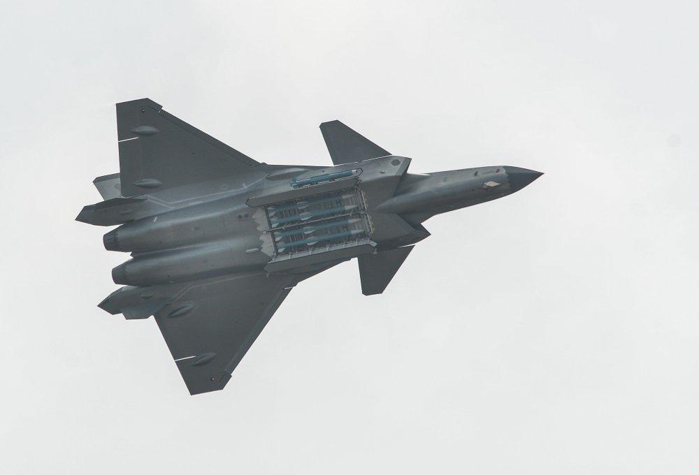 O J-20 da China prova que a USAF tem um grande problema de alcance