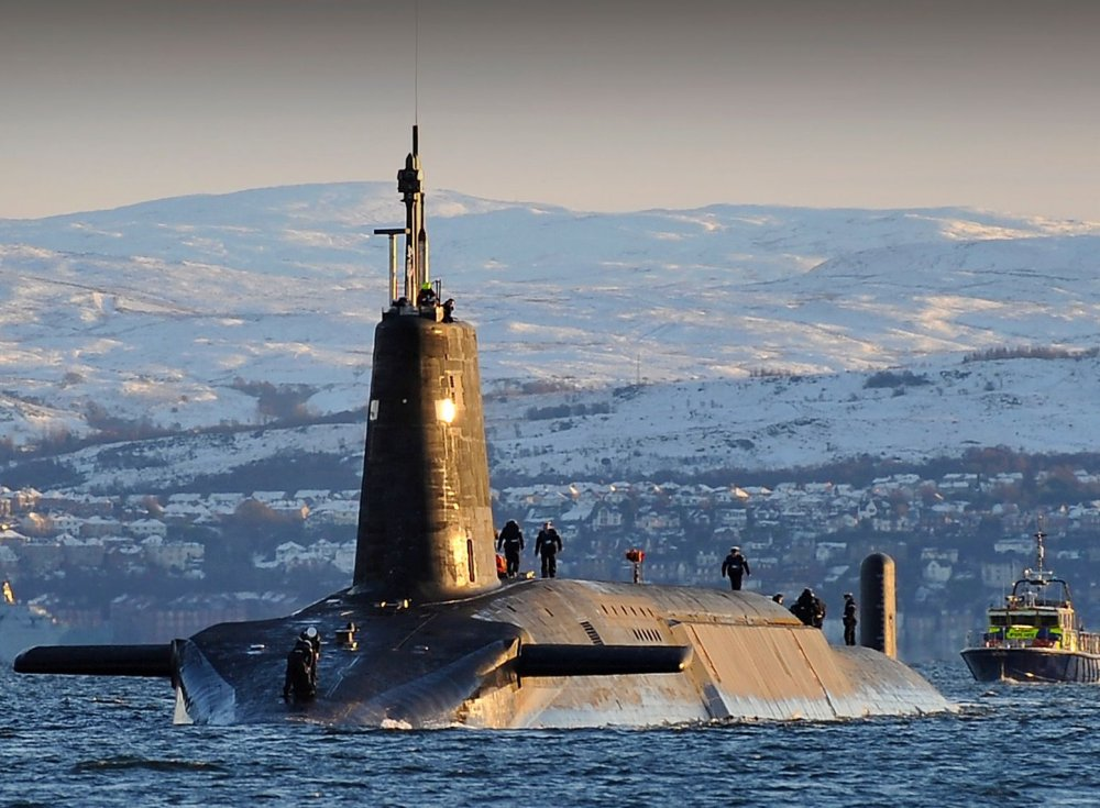 In 1981, a British Submarine Crashed into a Nuclear Russian