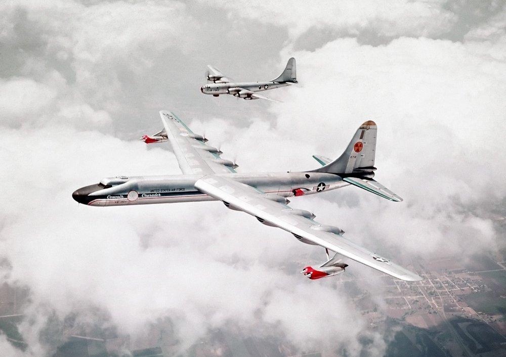 O sonho delirante dos EUA em busca do avião movido à energia nuclear