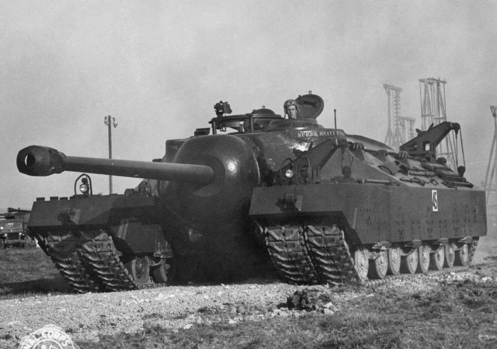Why America's World War II T-28 Super Tank Never Actually