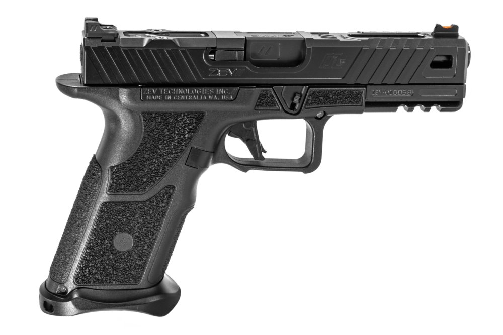 """ZEV OZ-9: This """"Glock-alike"""" Pistol Fires More Than One Bullet At a Time"""