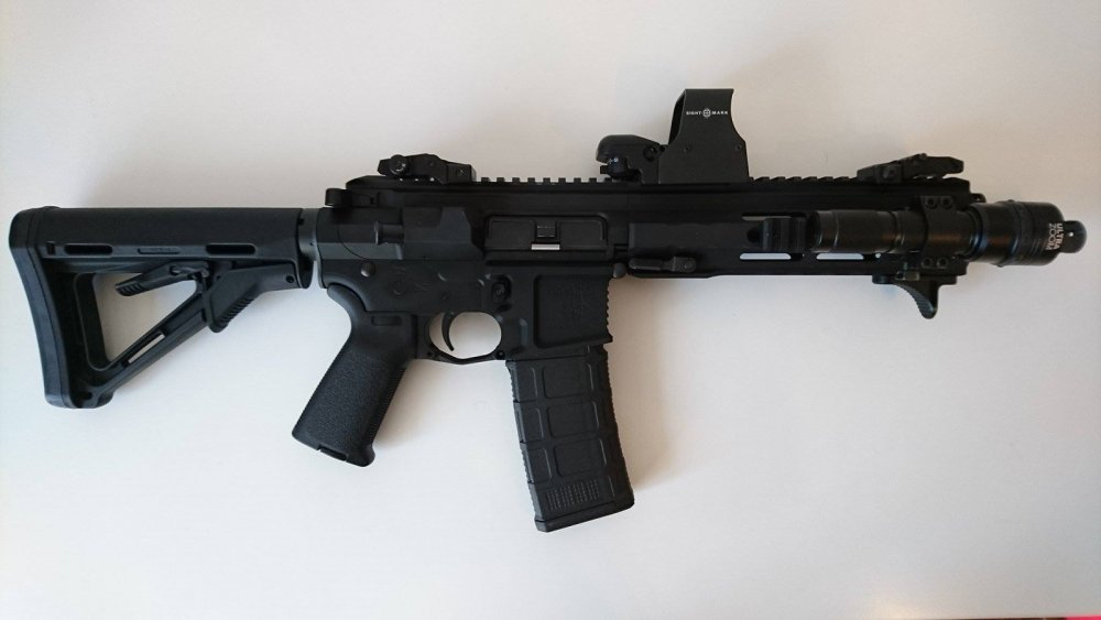The Deadliest Gun On The Planet A Mini Ar 15 Gun The