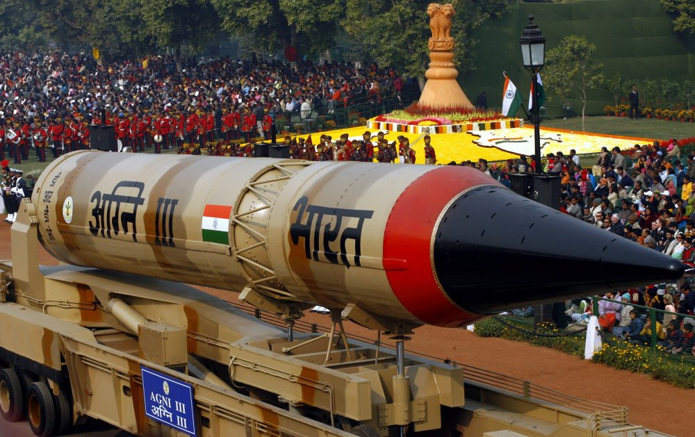 Image result for nuclear missiles india