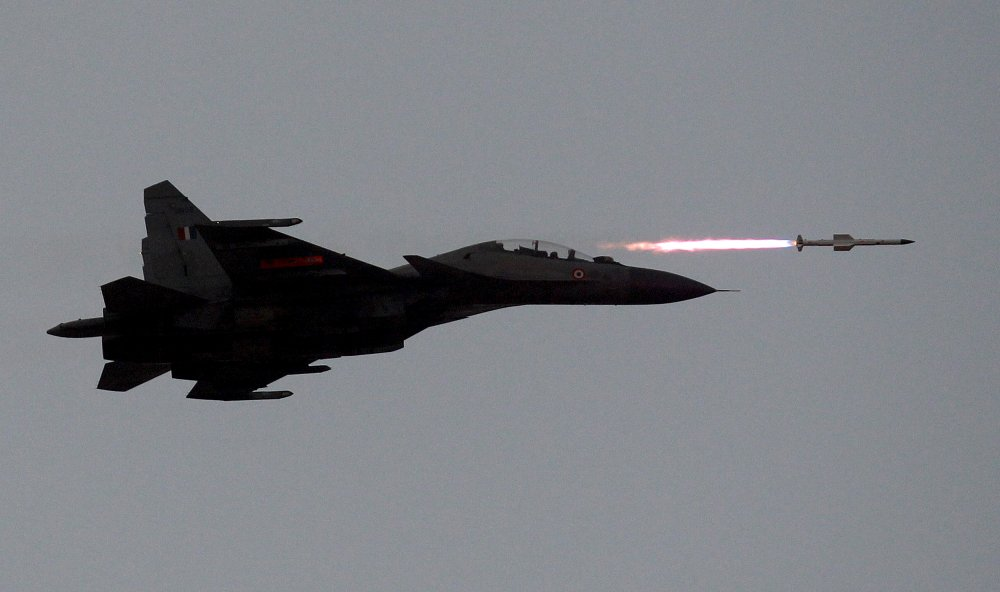 U S  Jet Fighters Are Back in India For Wargames (The Last