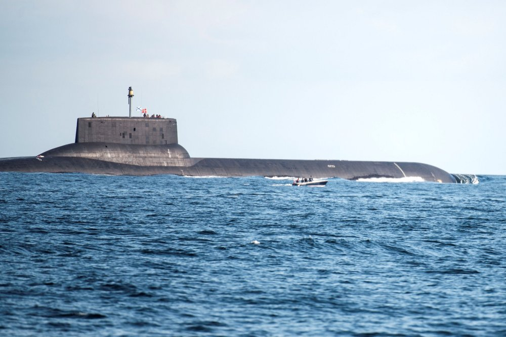 Ultimate Comeback: Russia's Typhoon Class Submarine (The