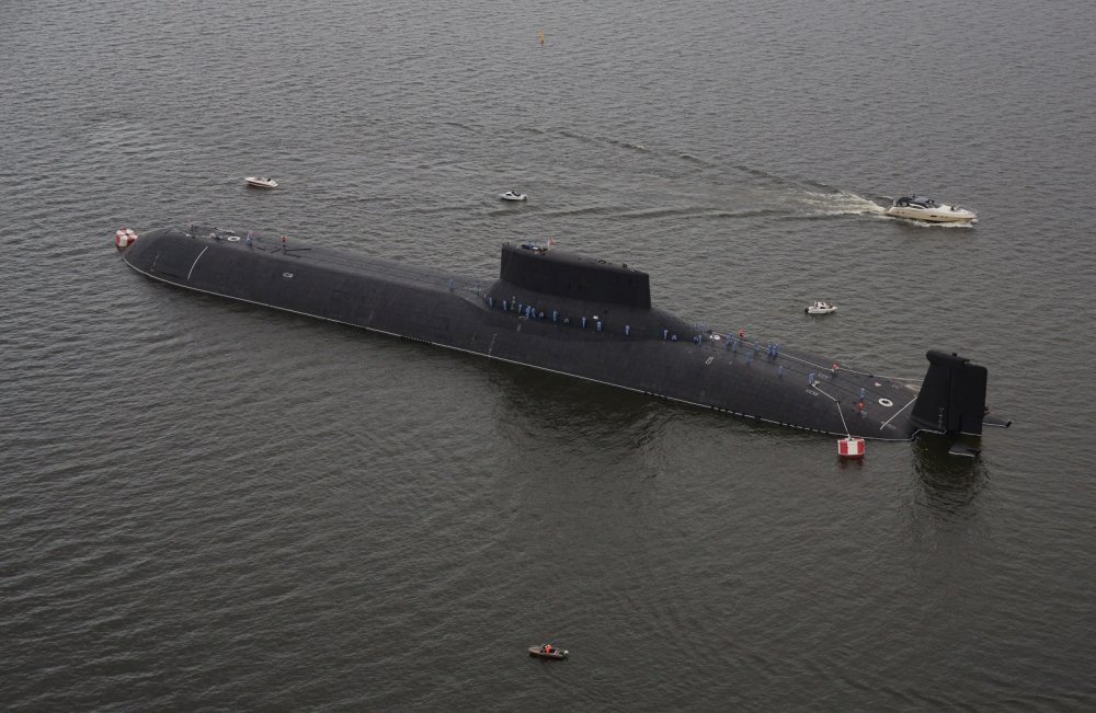 This Russian Submarine Is the Size of a World War II