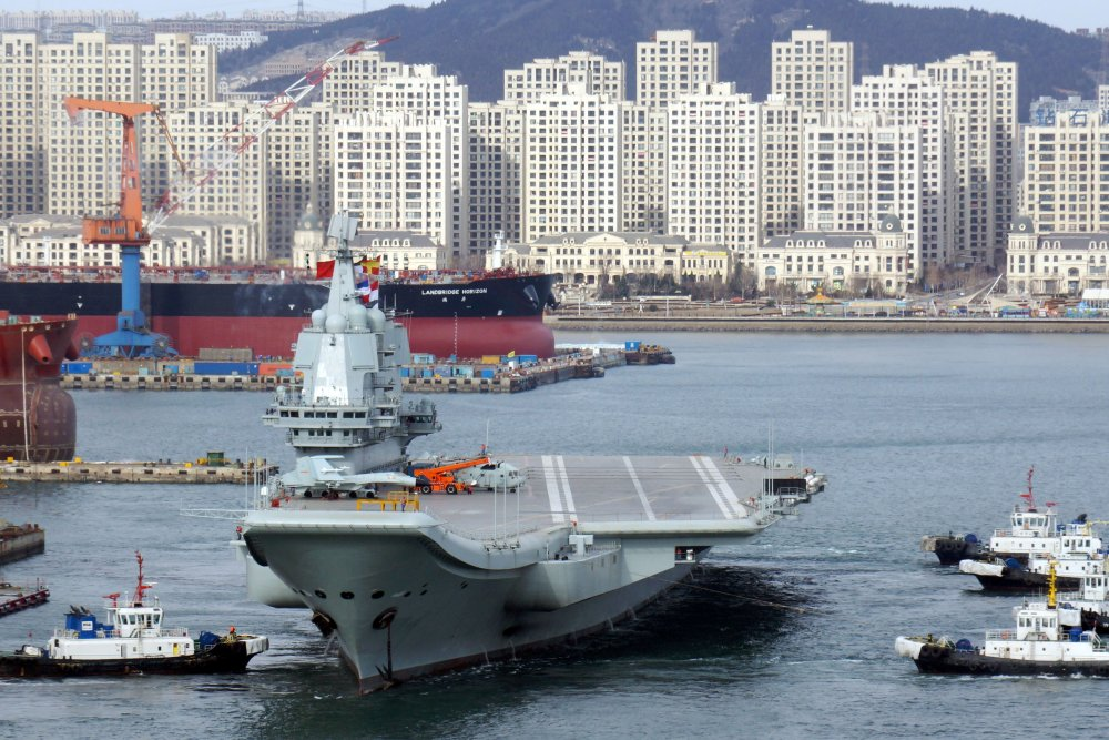 【中国】初の国産空母「001A」にトラブルか 海上公試直後に再試験 中国発表よりも実用化は先か 試行錯誤で課題に対処 ->画像>12枚