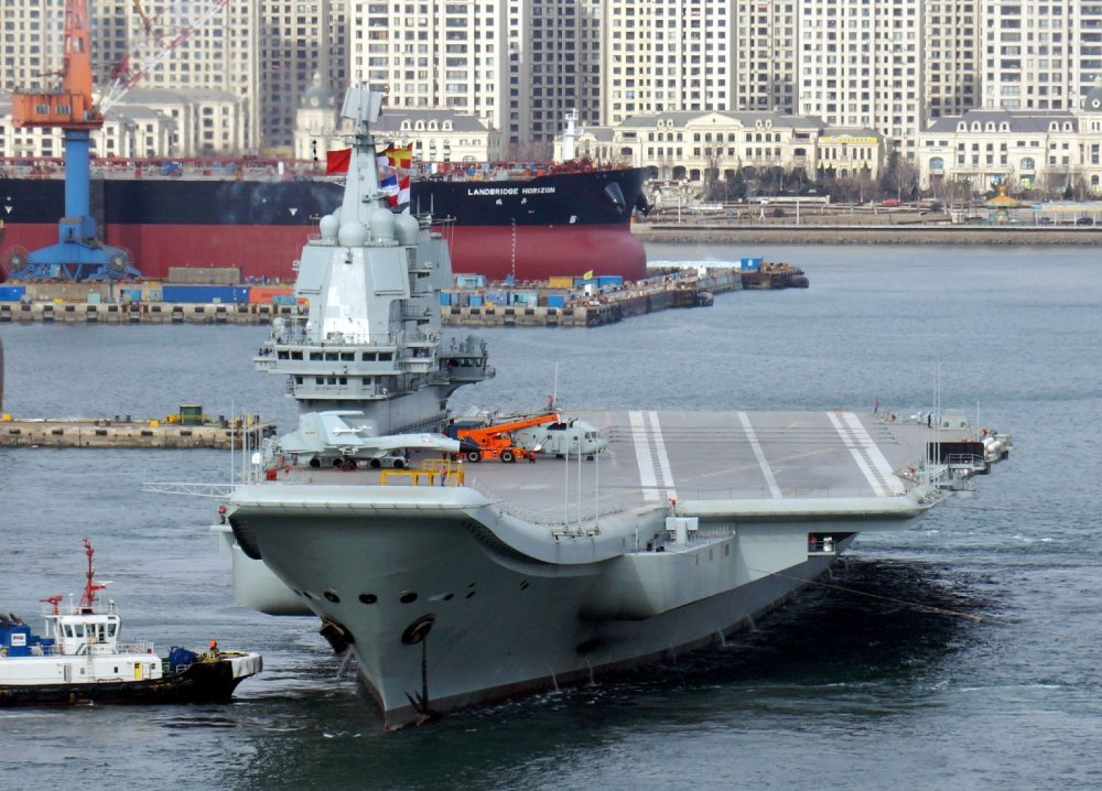 Fresh Pictures Of China S New Aircraft Carrier Can Only Mean 1 Thing