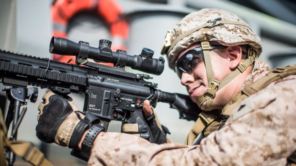 Marines Adore the M27 Infantry Automatic Rifle