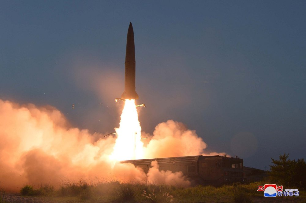 North Korea fires 'multiple unidentified missiles' reports South Korea