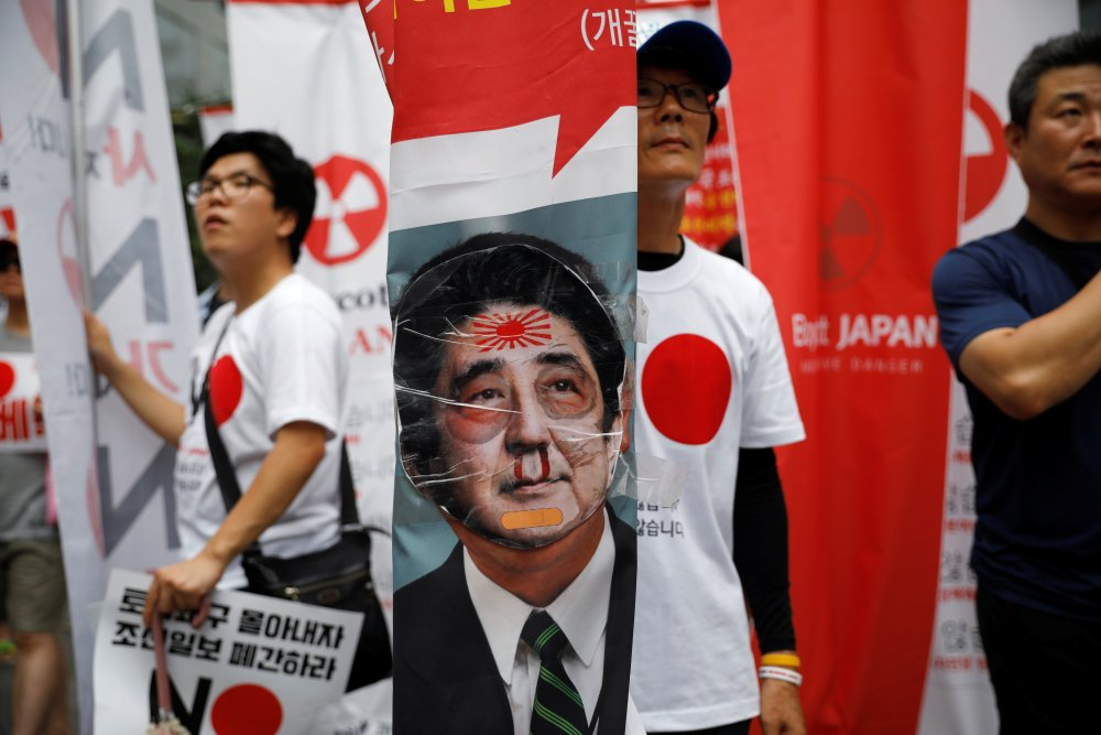 Japan's Export Strategy Targets South Korea's Ruling Class