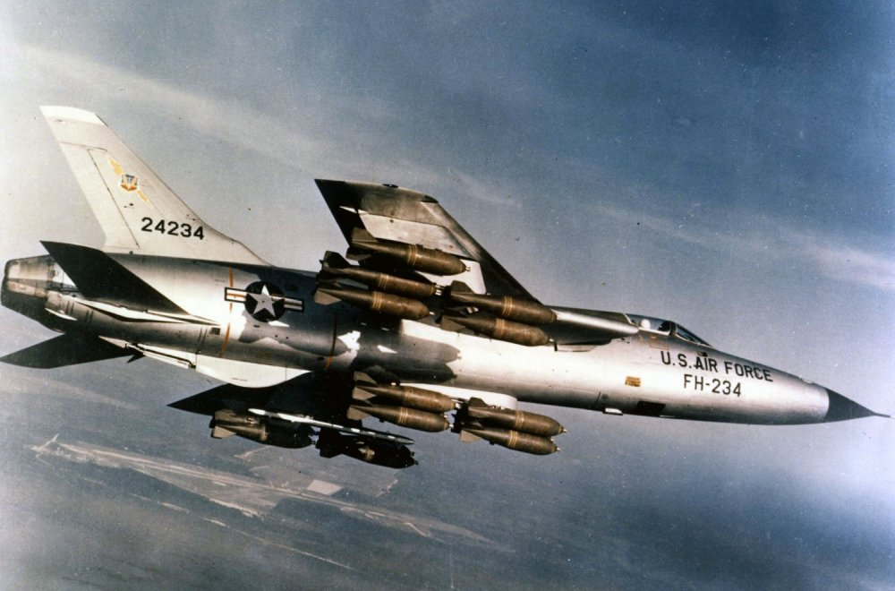 Introducing the 'F-35' of the Vietnam War: F-105