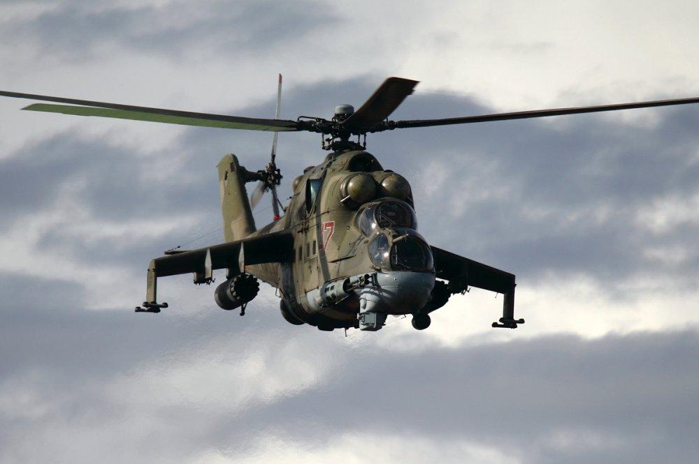 Helicóptero de ataque Mil Mi-24 Hind