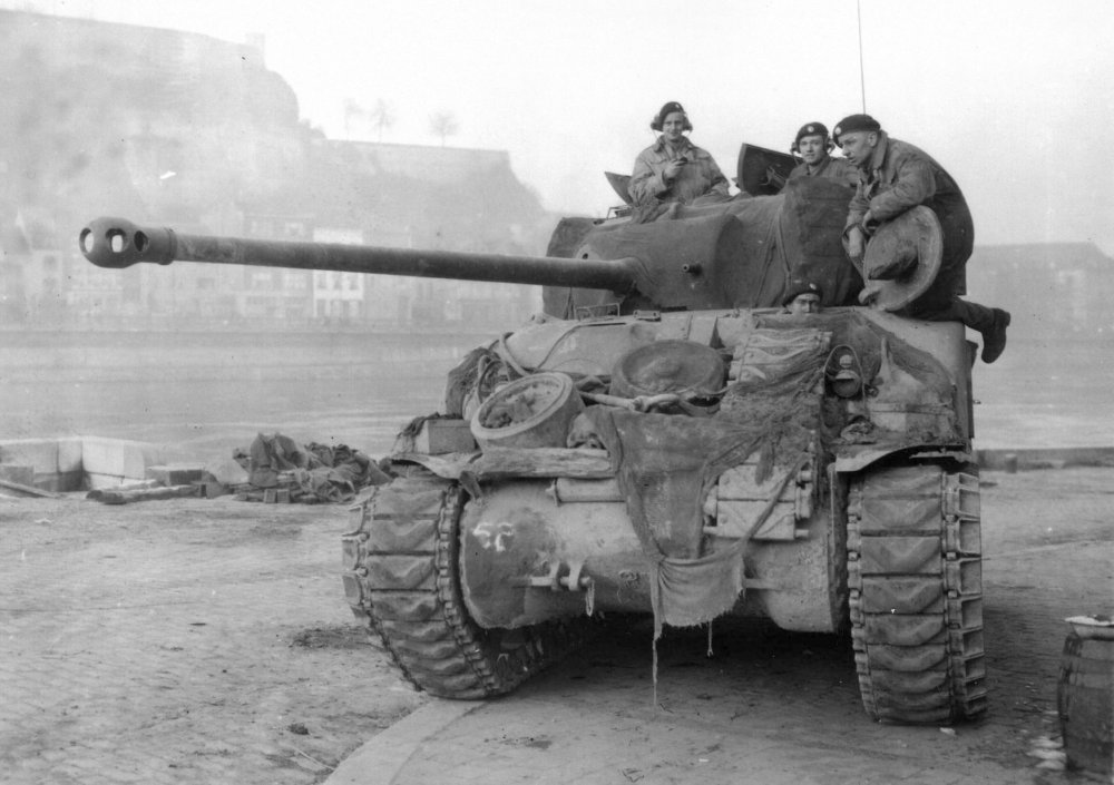 Armored Coffin: The M-4 Sherman Tank Was Hell on Wheels | The