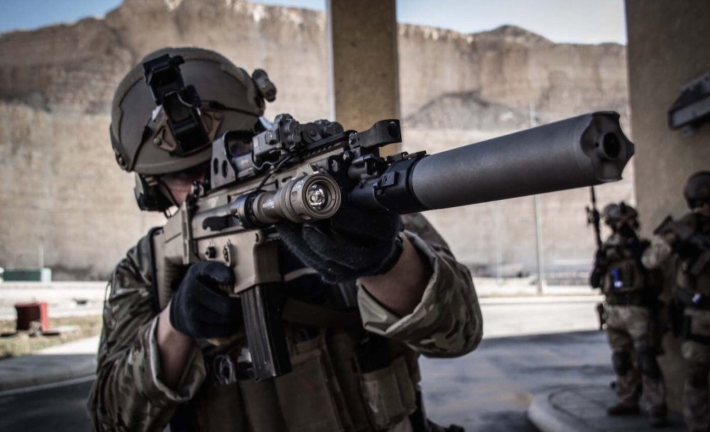 Fierce: These Are the Deadly Guns That Make the U S  Navy SEALs a