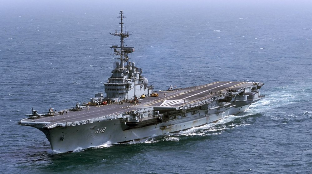 Floating Train Wrecks: These Aircraft Carriers Are Naval