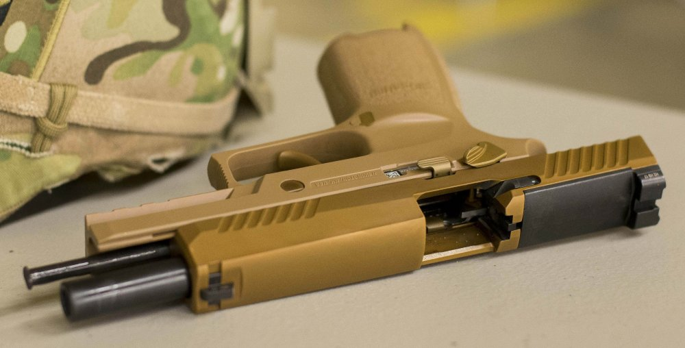 Why the Army Is Destined to Love Sig Sauer's M17 and M18