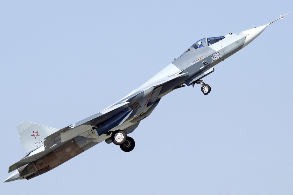 Russia's Su-57 Stealth Fighter Fleet Is Getting Stronger