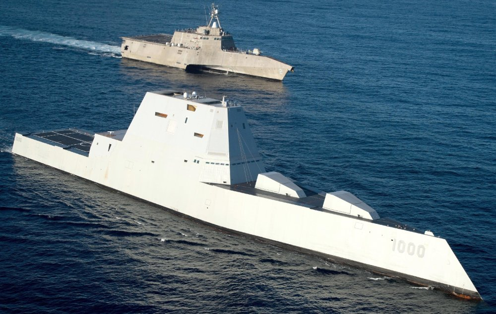 The Navy's Lethal New Stealth Destroyer Is No 'Battleship