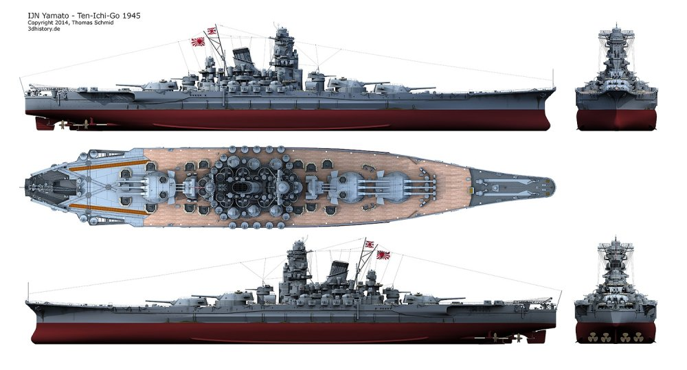 Japan Planned To Beach The Biggest Battleship Ever In A