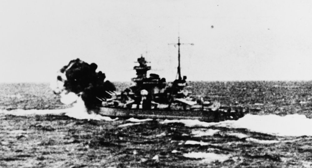 The Ultimate Naval Showdown: In 1940, a Battleship Actually