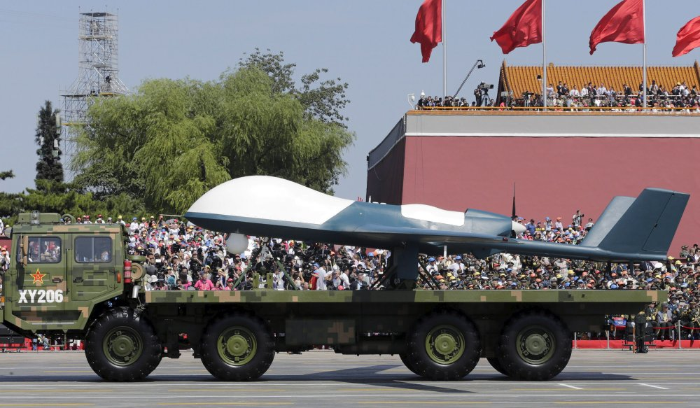 China Appears to Have Secretly Sold Pakistan a Large Combat Drone