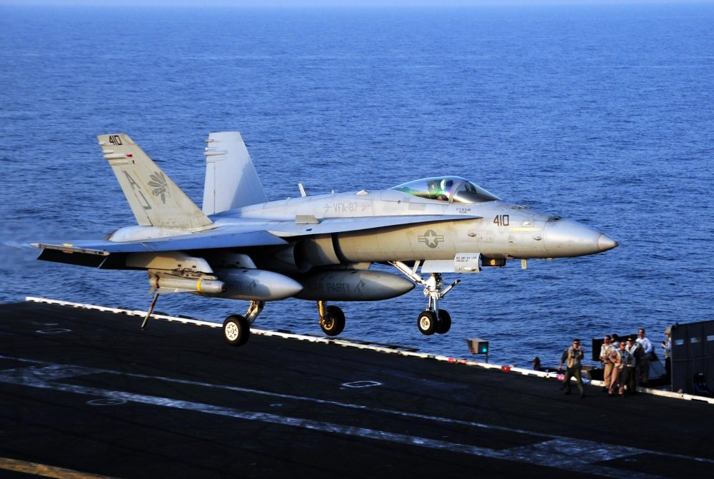 This Fighter Jet Landed On A U S Navy Aircraft Carrier But The