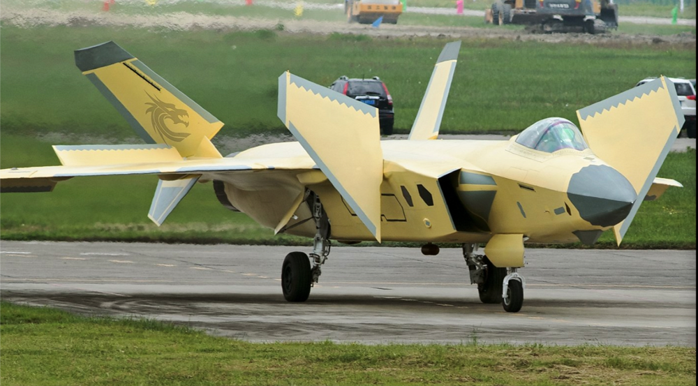 China's J-20 Stealth Fighter: New Pictures Confirm Something