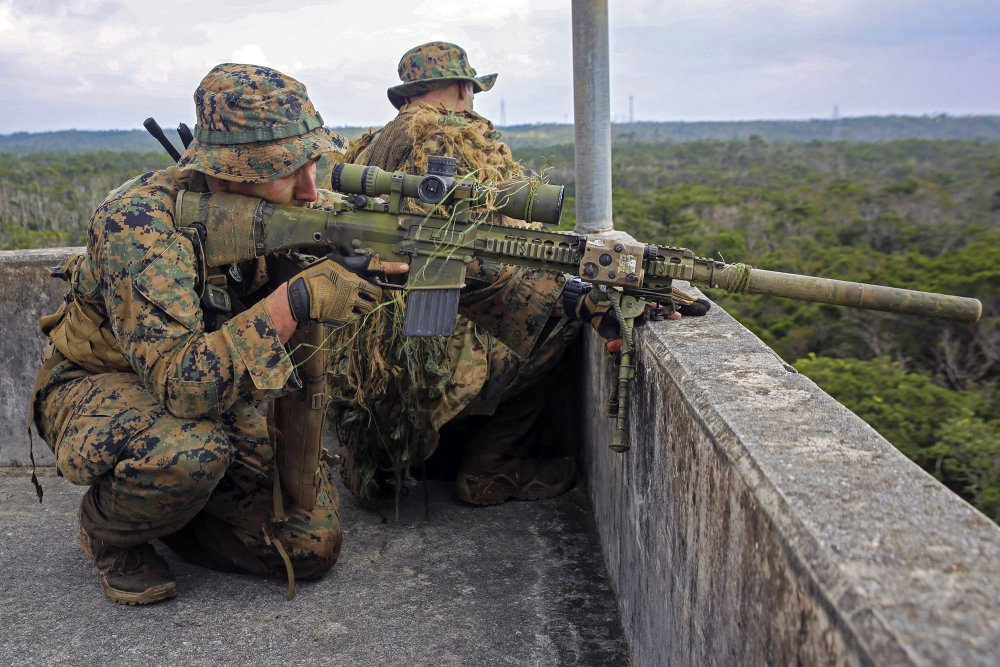 The Mk 13 Mod 7 Will Be the Marines' New Sniper Rifle  Here