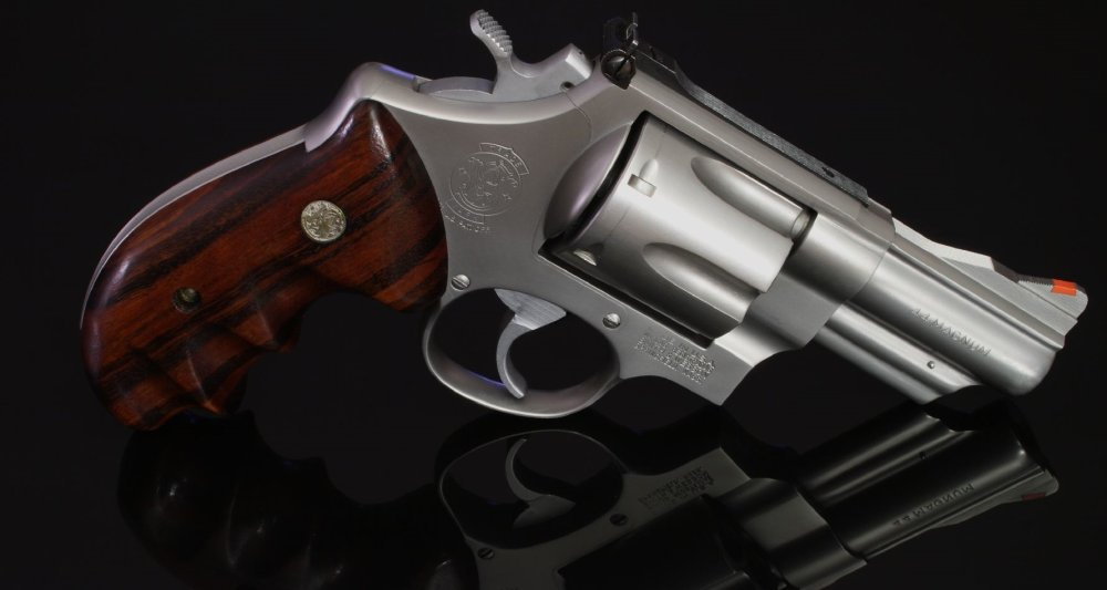 Meet Smith & Wesson's  44 Magnum Revolver: The 'Dirty Harry' Gun