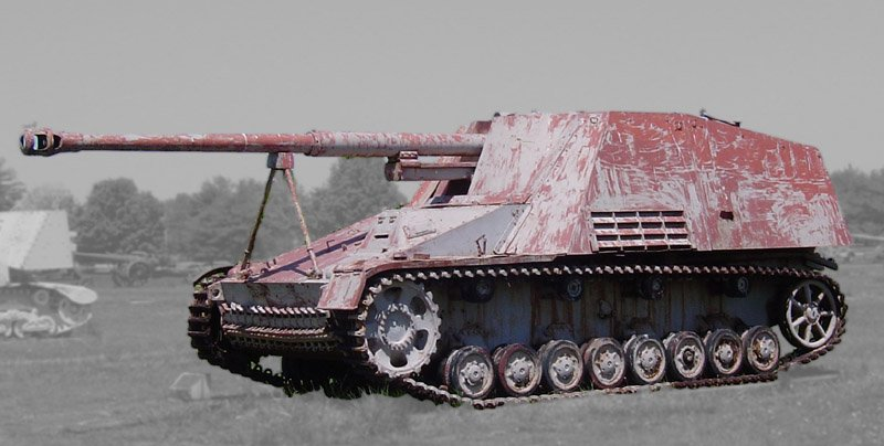 The Nashorn Was Nazi Germany's World War II Tank Sniper | The